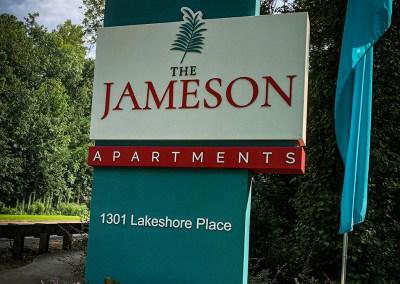 The Jameson Apartment Complex Rebrand