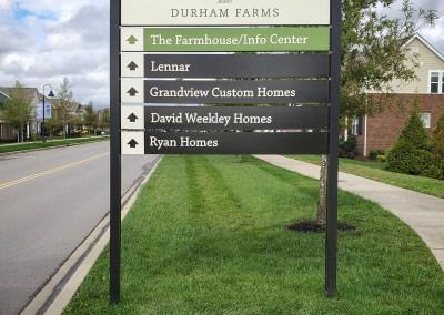 Durham Farms – Wayfinding