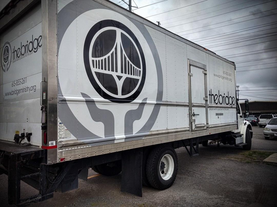 The Bridge Ministry - Vehicle Fleet Graphics