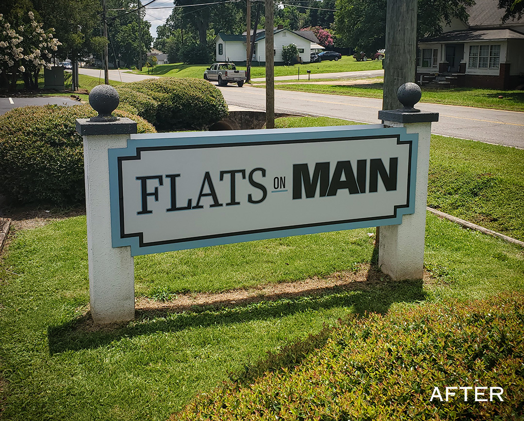Flats on Main_Monument - After