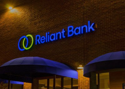 Reliant Bank – Channel Letters