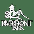 Riverfront Park Logo in white