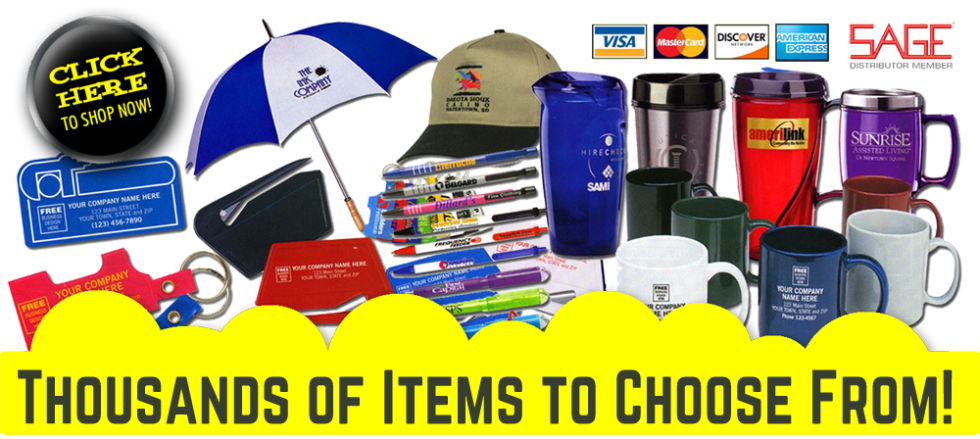 Branded Promotional Products - Signs for Success