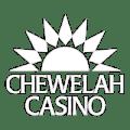 Chewelah Casino Logo in white