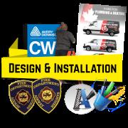 Install, Logo Design, Vectorize logos, and more