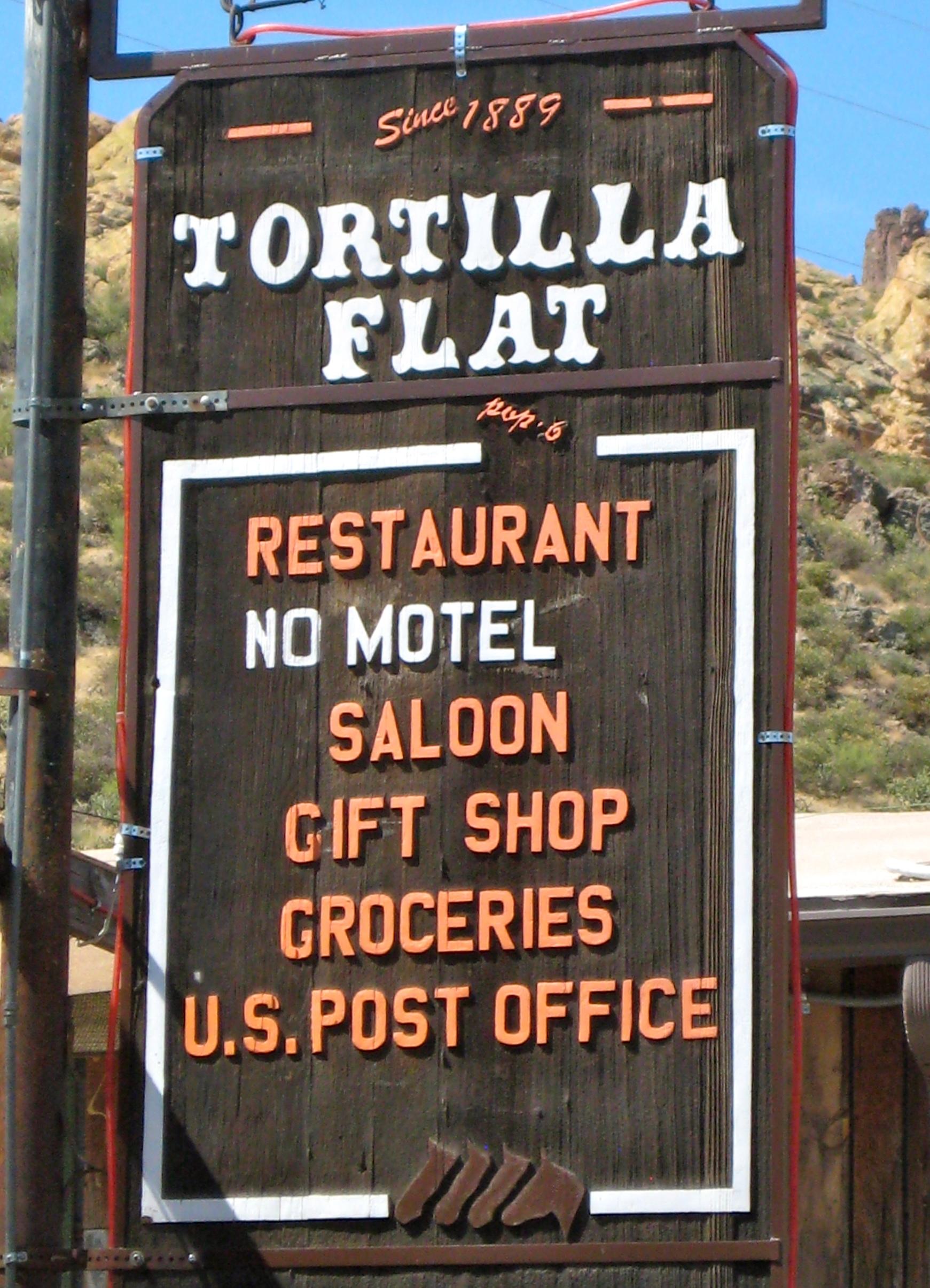 Tortilla Population Az Flat