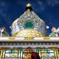 Namgyal Medicine Buddha Stupa