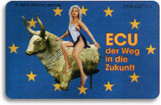 A Woman Rides The Beast German Phone Card