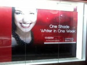 Colgate Window Banner