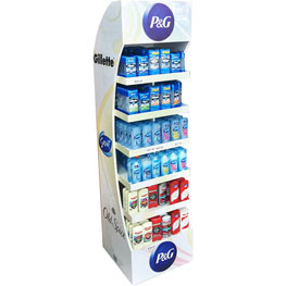 P&G--Premium-Floor-Display