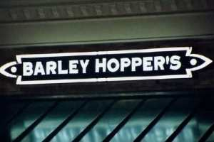 Barley Hoppers Custom Neon Storefront Sign