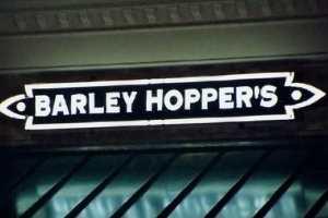 Barley Hoppers Custom Neon Storefront Sign