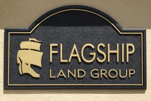 Flagship Routed Wall Sign