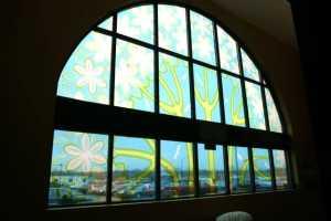 Oversized Window Wrap Graphics
