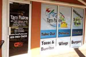 Storefront Die Cut Window Decals
