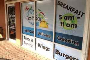 Storefront Window Wrap