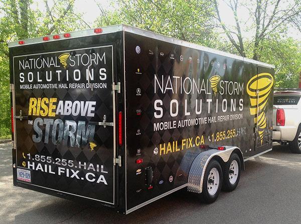 vinyl wraps for trailers