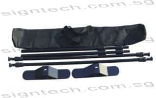 Telescopic Backdrop Stand with carry bag