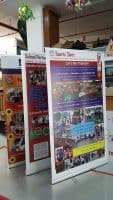 1.2 x 2m roll up banners - school