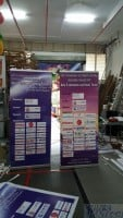 2 x 0.85m Pull up banner for China Customer