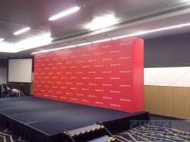 7 x 2.5m Stage backdrop for CIMB