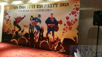 16 x 8ft DBS Year End Party with super heroes