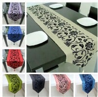 many colour tablecloths