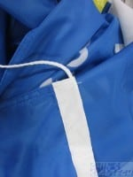 Flag with sleeves and ropes - BlueFlag with sleeves and ropes - Blue