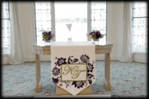 Wedding table Runners singapore