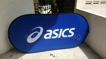 Pop Out A Frame Banner - Large size for ASICS