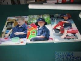 Foam board printing for Australian School