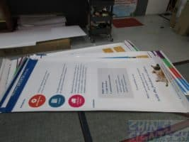 Poster printing for exhibition