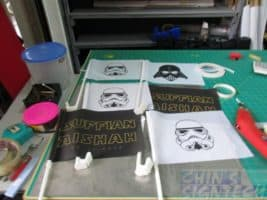 Star Wars theme - Csr Windscreen Flags