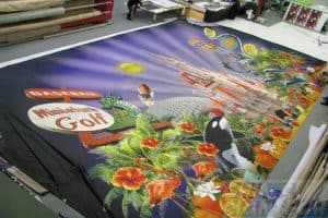 12m large format printing on fabric