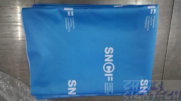 SNCF 6ft table cloth with step and repeat logo