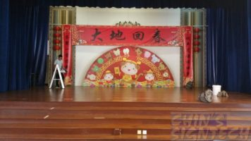18 x 8ft Chinese New year backdrop