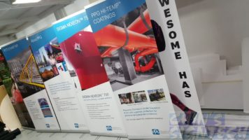 2 x 0.85m Pull up banners - PPG Industries