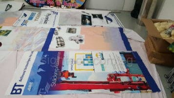 Fabric Banner for Exhibition Panels