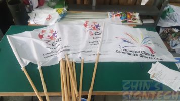 Size 5- 96 X 64CM CSC Flags for Carnival Sports