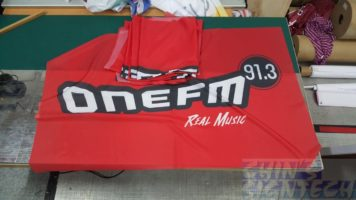 flags printing for Onefm 91.3
