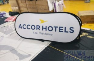 Accord Hotels Pop Out A Frame Banner