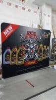 3 x 2.25m Tension Fabric display - Havoline