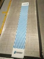 Table Runner with checker design - MS