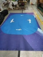 Toy R Us table cloth