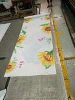 Wedding Aisle Runners (Flowers pattern)