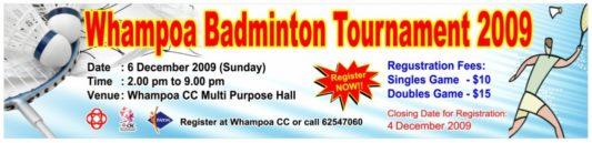Badminton Banner Printing