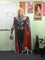 life size Foam Board Cut Out Figure
