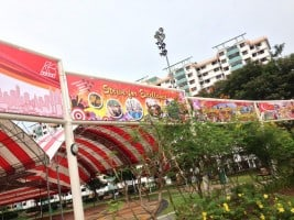National Day PVC banners at Singapore