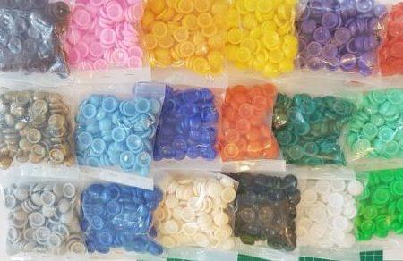 Plastic Dome Caps