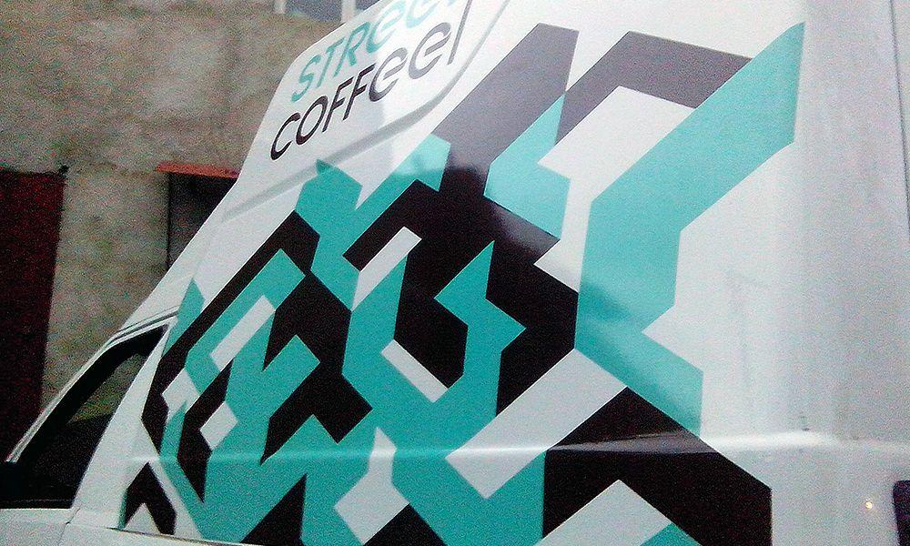 оклейка пленкой кофе-машины